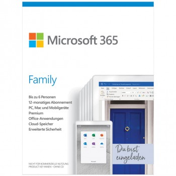Microsoft 365 Family (vorher Office 365 Home)