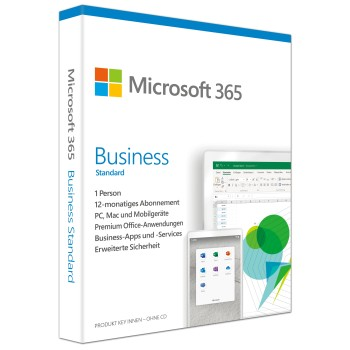 Microsoft 365 Business Standard (vorher Office 365 Business Premium)